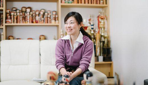 梅木直美さん(蔵王高湯系こけし工人)「こけしが繋げてくれる絆と笑顔」インタビュー