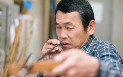 川崎幹夫さん(紀州へら竿師)「使い手との邂逅でつくられる紀州の竿」