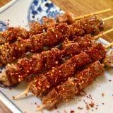 フライパンでできる即席揚げカワプ羊肉串の作り方(世界自炊紀行vol.1)