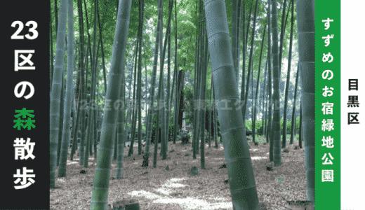 【東京23区の森散歩】すずめのお宿緑地公園:目黒区